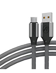 cheap -Micro USB USB C Cable Normal 2.4 A 1.2m(4Ft) Silicone For Samsung Xiaomi Huawei Phone Accessory