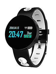 cheap -X1 Smartwatch Fitness Running Watch Sleep Tracker Heart Rate Monitor Blood Pressure Long Standby Call Reminder Anti-lost IP 67 38mm Watch Case for Smartphone Men Women