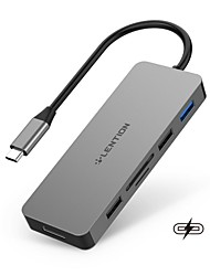 cheap -LENTION High Speed with Card Reader(s) Support Power Delivery Function C17 USB 3.0 USB C to USB 2.0 USB 3.0 SD Card TF Card HDMI PD 2.0 USB Hub 7 Ports For Windows, PC, Laptop