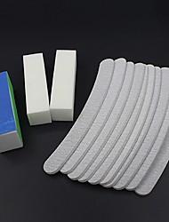 cheap -13 Pcs Professional Nail File Sanding File Buffer Salon Nail Sanding Grinding Polishing Sandpaper File Nail Art Accessories Tool