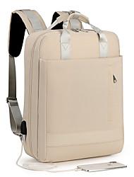 cheap -15.6 Inch Laptop Commuter Backpacks Nylon Fiber Solid Color Unisex Shock Proof