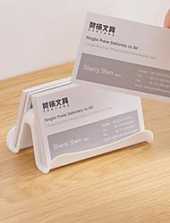 cheap -card holder back to school gift White Card Cases desk Organizers for Women & Men  9.7*6*4.2 cm