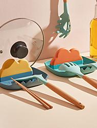 cheap -Pot Cover Rack Kitchen Counter Top Oil-Proof Pan Cutting Board Storage Rack Spatula Spoon Shelf
