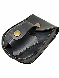 cheap -handmade leather 2 in 1 hunting slingshot catapult steel balls bearings bag pouch case holder pack for travel festival walking sport running outdoor gym workout exercise