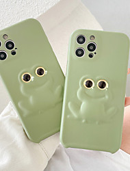 cheap -Phone Case For Apple Back Cover iPhone 12 Pro Max 11 SE 2020 X XR XS Max 8 7 Shockproof Dustproof Cartoon Graphic Silicone