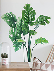 cheap -Plants Wall Stickers Bedroom Living Room Removable Pre-pasted PVC Home Decoration Wall Decal 1pc