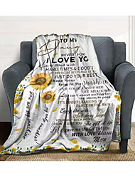 cheap -Flannel Blanket Mail Envelope Blanket Gift Blanket Childrens Nap Air Conditioning Blanket Letter Blanket