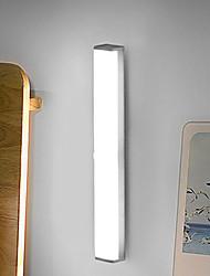 cheap -21cm Kitchen LED Bulb PIR Motion Sensor Wireless Wall Lamp USB LED Cabinet Light for Wardrobe Stair Cupboard Bed Light