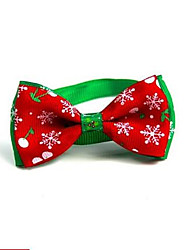 cheap -Dog Cat Pets Collar Adjustable Polyester Red 1pc