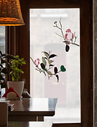 cheap -Plant Animal Matte Window Film Cling Vinyl Thermal-Insulation Privacy Protection Home Decor For Window Cabinet Door Sticker Window Sticker - 116*60CM