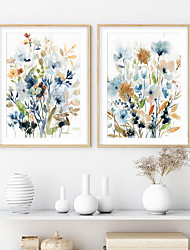 cheap -Wall Art Canvas Prints Painting Artwork Picture Plant Flower Floral Home Decoration Decor Rolled Canvas No Frame Unframed Unstretched