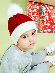 cheap -New Hot Sale Autumn And Winter Christmas Children's Knitted Hats Cross-Border Spot Winter Warm Baby Woolen Hats