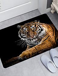 cheap -Tiger Series Digital Printing Floor Mat Modern Bath Mats Nonwoven / Memory Foam Novelty Bathroom
