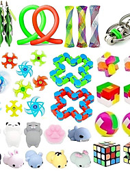 cheap -33 Pack Sensory Toys Set Stress Relief Fidget Toys Pack for Adults Kids Party Toys Birthday Party Favors Pinata Fillers Classroom Rewards Treasure Box Prizes Carnival Game Goodie Bag Fillers