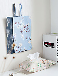 cheap -Cotton And Linen Paper Towel Suction Cloth Art Paper Towel Box Suction Paper Sleeve Lovely Cartoon Creative Paper Towel Suction Paper Bag Home Manufacturers 30*18cm