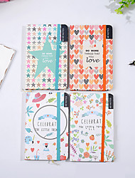 cheap -Colored Cute Journal Notebook back to school gift office Diary Planner Agenda Sketchbook Suitable