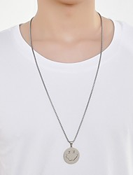 cheap -Men's Necklace Friends Romantic Vintage European Trendy Alloy Silver 70 cm Necklace Jewelry 1pc For Street Festival