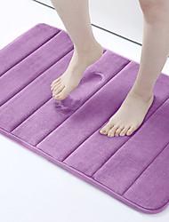 cheap -Soft Bathroom Mat Home Shower Cotton Bath Rug Corridor Coral Fleece Water absorption Carpet Anti-slip product Kitchen Floor Set