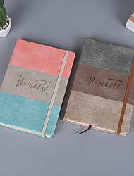 cheap -Faux Grasscloth PU Journal Notebook back to school gift office Diary Planner Agenda Sketchbook Suitable