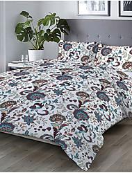 cheap -Print Home Bedding Duvet Cover Sets Soft Microfiber For Kids Teens Adults Bedroom Floral 1 Duvet Cover + 1/2 Pillowcase Shams