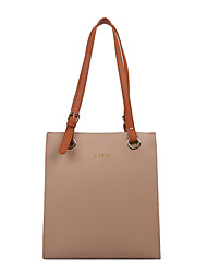 cheap -Women's Bags PU Leather Crossbody Bag Zipper Daily Outdoor Tote Baguette Bag Messenger Bag Blue Khaki Black Brown