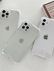 cheap -Phone Case For Apple Back Cover iPhone 12 Pro Max 11 Pro Max Shockproof Dustproof Transparent TPU