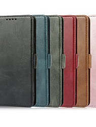cheap -Phone Case For Google Full Body Case Google Pixel 3 Google Pixel 3a Google Pixel 4a Google Pixel 5 Google Pixel 4 XL Card Holder Shockproof Dustproof Solid Colored PU Leather
