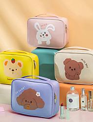 cheap -Storage Organization Cosmetic Makeup Organizer Cloth Rectangle Shape Portable 24.5*18*7cm