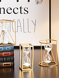 cheap -Hourglass Timer Time Decoration Modern Simple Home Decoration Office Desk