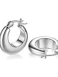 cheap -sterling silver hoop earrings 925 sterling silver earrings exquisite fashion ladies jewelry earrings hypoallergenic earrings ladies girl earrings