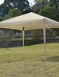 cheap -3 x 3m Practical Waterproof Right-Angle Folding Tent Khaki