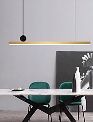 cheap -LED Pendant Light Island Light 88 cm Lantern Design Pendant Light Metal Electroplated Modern 220-240V