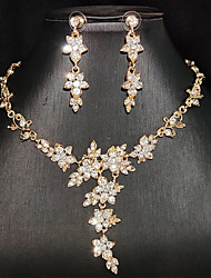 cheap -Women's Jewelry Set Earrings Jewelry Silver / Gold For Party Evening Festival