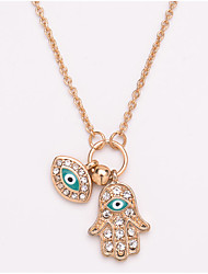 cheap -Women's Necklace Fashion Sweet Alloy Silver Gold 52 cm Necklace Jewelry For Street Gift