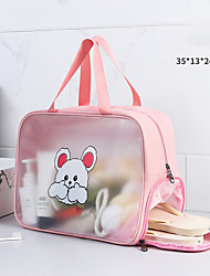 cheap -New ins wind travel portable cosmetic bag women's skin care storage bag large capacity transparent waterproof toiletry bag