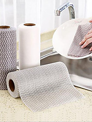 cheap -Cleaning Clothes Dish Clothes for Washing Dishes Rag Dry and Wet Kitchen Thickened Degreasing Dishwashing Cloth Washable Household Absorbent Disposable Non-woven Fabric