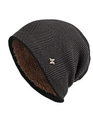 cheap -Winter Hat Knit Beanie Hats for Women Men Fleece Lined Ski Skull Cap Slouchy Winter Hat