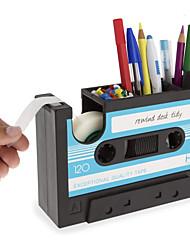 cheap -Shape Desktop Pen Holder Cutter school Office Stationery Creative Personality Student Pen Holder 17.5*11.7*6.5cm