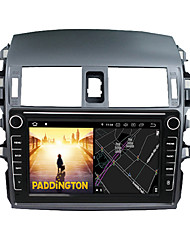 cheap -Android 9.0 Autoradio Car Navigation Stereo Multimedia Player GPS Radio 8 inch IPS Touch Screen for Toyota Corolla 2009-2013 1G Ram 32G ROM Support iOS System Carplay