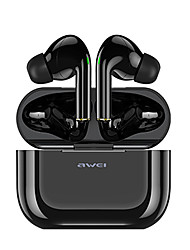 cheap -AWEI T29 True Wireless Headphones TWS Earbuds Bluetooth5.0 Ergonomic Design with Charging Box ENC Environmental Noise Cancellation for Apple Samsung Huawei Xiaomi MI  Everyday Use Traveling Cycling