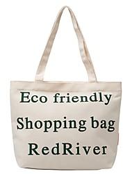 cheap -Women's Unisex Bags Canvas Crossbody Bag Zipper Daily Outdoor 2021 Canvas Bag Tote White Black