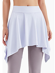 cheap -Activewear Skirts Solid Women's Training Daily Wear High POLY Elastane