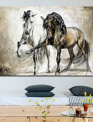 cheap -Wall Art Canvas Prints Painting Artwork Picture Animal Horse Home Decoration Decor Rolled Canvas No Frame Unframed Unstretched