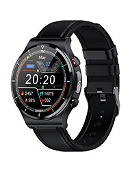 cheap -E88 Smartwatch Fitness Running Watch Bluetooth ECG+PPG Temperature Monitoring Pedometer Long Standby Call Reminder Step Tracker IP68 46mm Watch Case for Smartphone Men Women