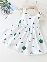 cheap -[90-130cm] dot sleeveless dress