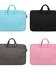 cheap -11.6 Inch Laptop / 12 Inch Laptop / 13.3 Inch Laptop Briefcase Handbags Canvas Simple / Solid Color for Men for Women for Business Office Shock Proof