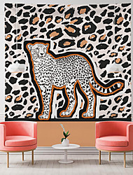 cheap -Animal Print Pattern Wall Tapestry Art Decor Blanket Curtain Hanging Home Bedroom Living Room Decoration Polyester