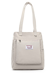 cheap -14 Inch Laptop / 15.6 Inch Laptop Shoulder Messenger Bag Nylon Fiber Solid Color for Women Shock Proof