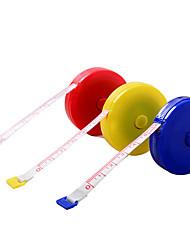 cheap -4pcs  Soft Measure 150cm Roulette Measuring Measure Retractable Colorful Portable Ruler Centimeter Inch