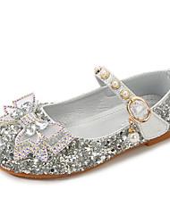 cheap -Girls' Flats Flower Girl Shoes Princess Shoes School Shoes Rubber PU Cartoon Design Air Mattresses / Air Shoes Wedding Sequins Little Kids(4-7ys) Big Kids(7years +) Daily Party & Evening Walking Shoes